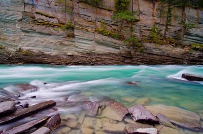 Fraser River near Mt Robson, BC