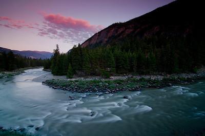 Similkamen River, near Hedley, BC