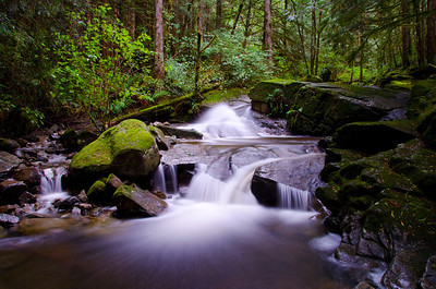 Sweetwater Creek, Powell River, BC