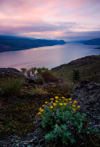 Kamloops Lake, Thompson Okanagan region of BC