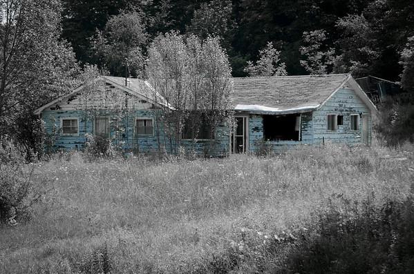 broken home...