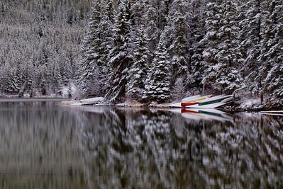 Pyramid Lake, Jasper, AB
