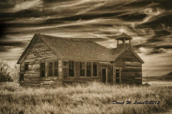 Schoolhouse, Griffith,ND. 2012: 1/5
