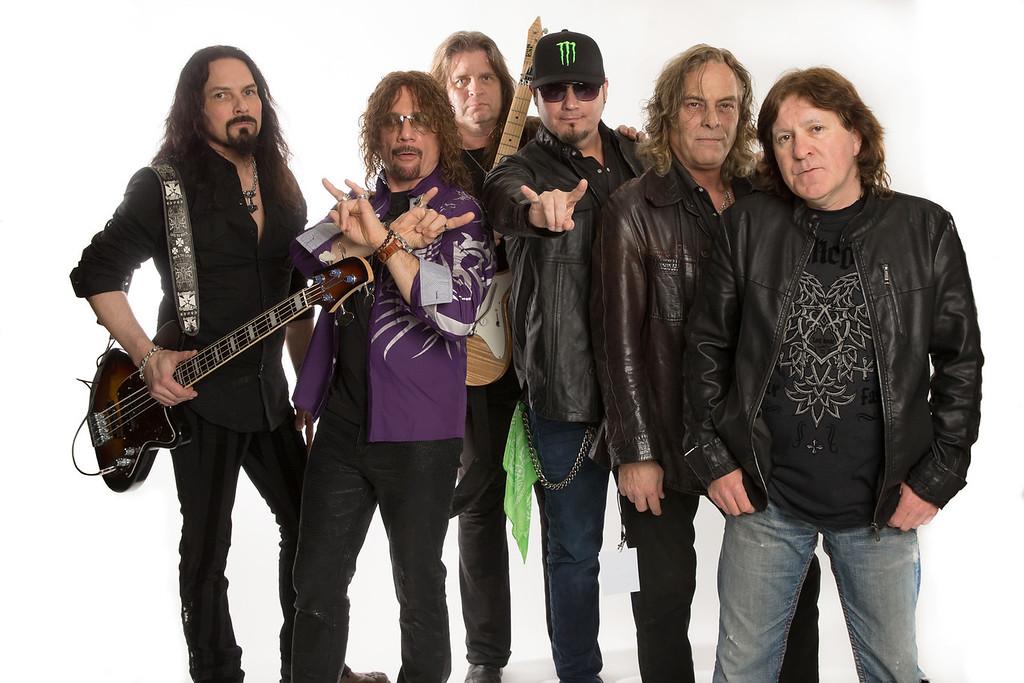 Hall of Heavy Metal History Awards - Backstage Portraits