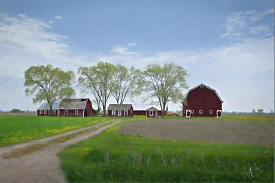 Roadside Barn P1263501 painted crop