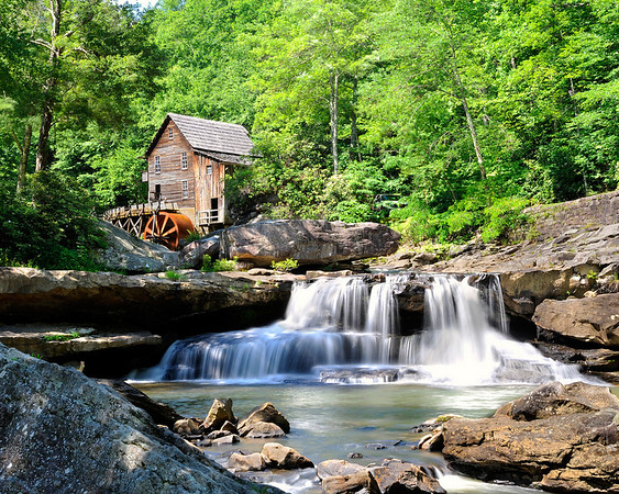Glade Creek Grist Mill<br /> Babcock State Park, West Virginia