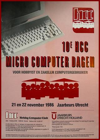 10e HCC Micro Computer Dagen poster