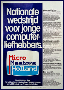 Micro Masters Holland 1986 poster