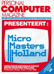 Catalogus Finale Micro Masters Holland 1986