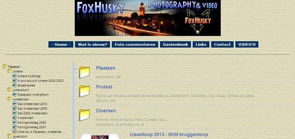 screenshot- FoxHusky com juli 2013