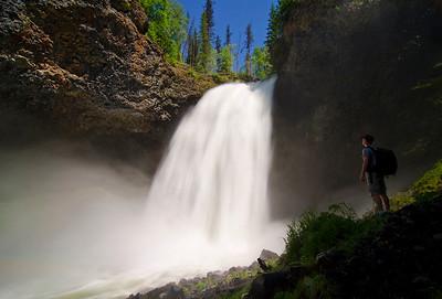 Moul Falls, Wells Gray Provincial Park, BC