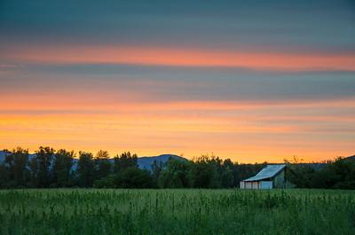 Farm in Enderby, BC