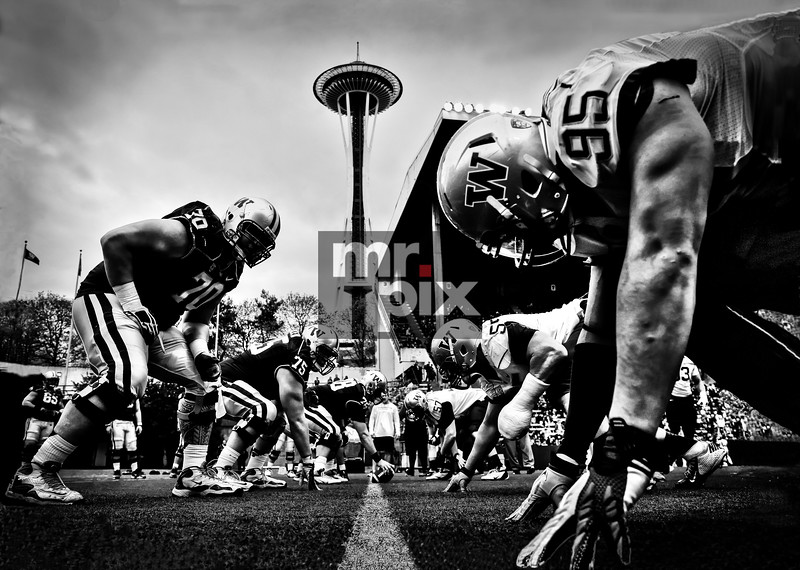 Sports Photography - Huskies Spring Game - 4/20/13