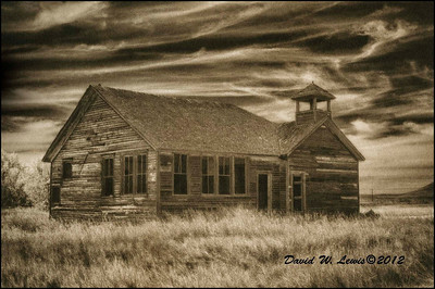 Schoolhouse, Griffin, ND. 2012