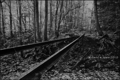 Rail Track, Cunard,WV. 2007