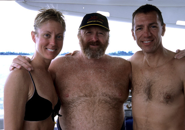 The late Larry Smith:  pioneer of diving in Indonesia and dive guide extraordinaire