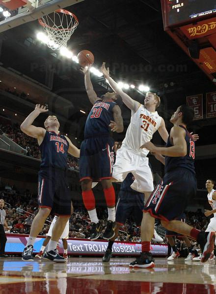 NCAA BASKETBALL: JAN 08 Arizona at USC
