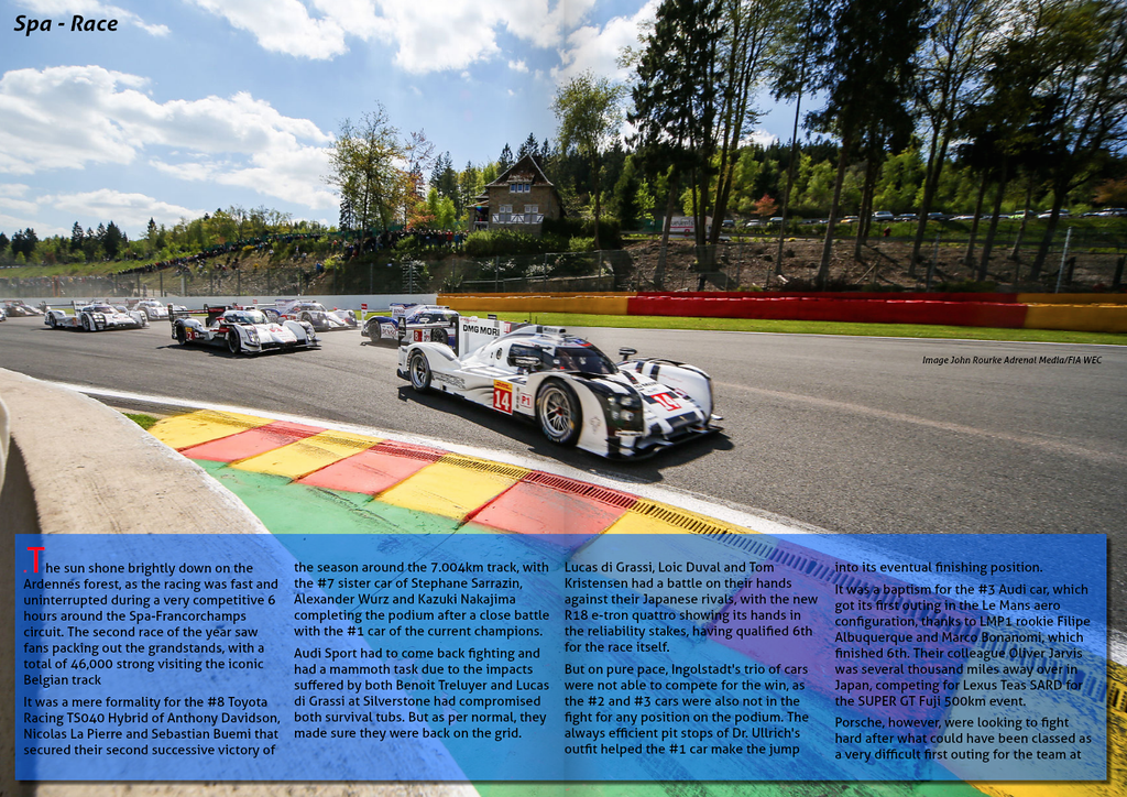 E Racing Magazine<br /> Issue 5 - May 2014