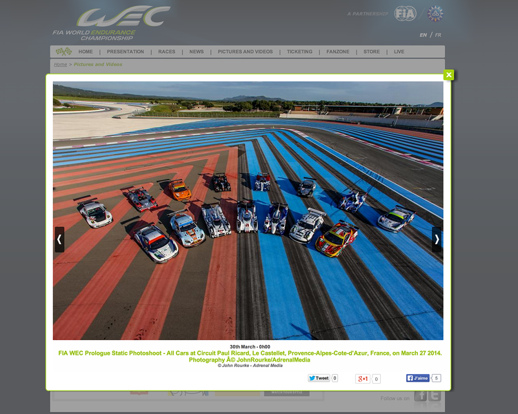 FIA WEC on-line gallery