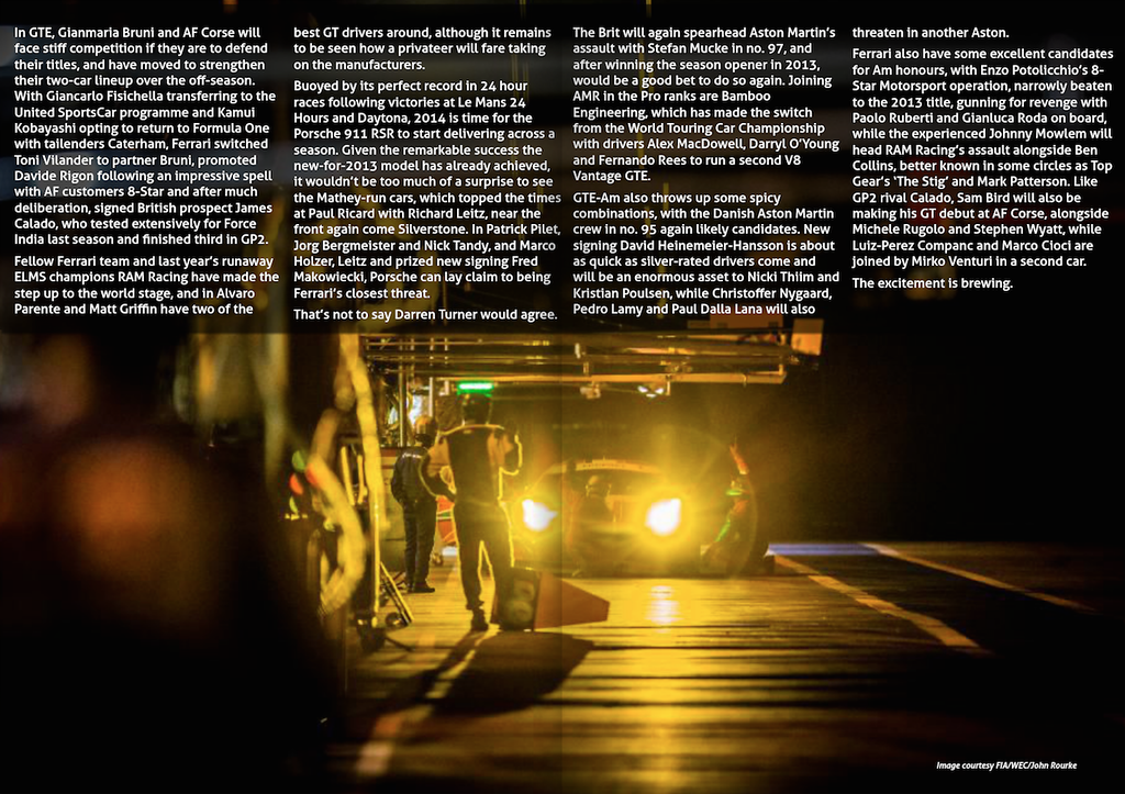 E Racing Magazine<br /> Issue 3 - April 2014