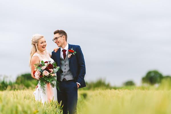 Benacre Barn Wedding