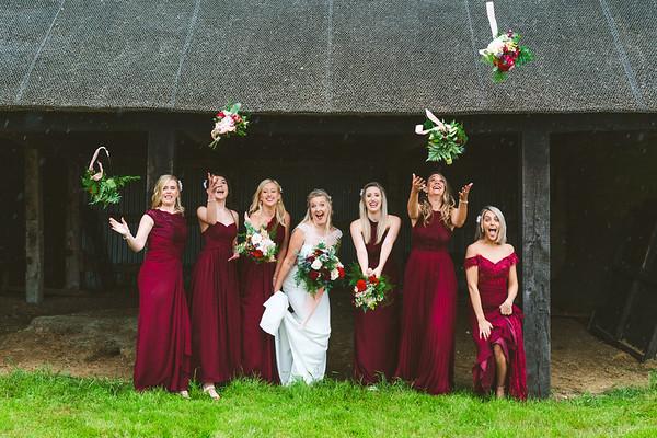 Benacre Barn Wedding