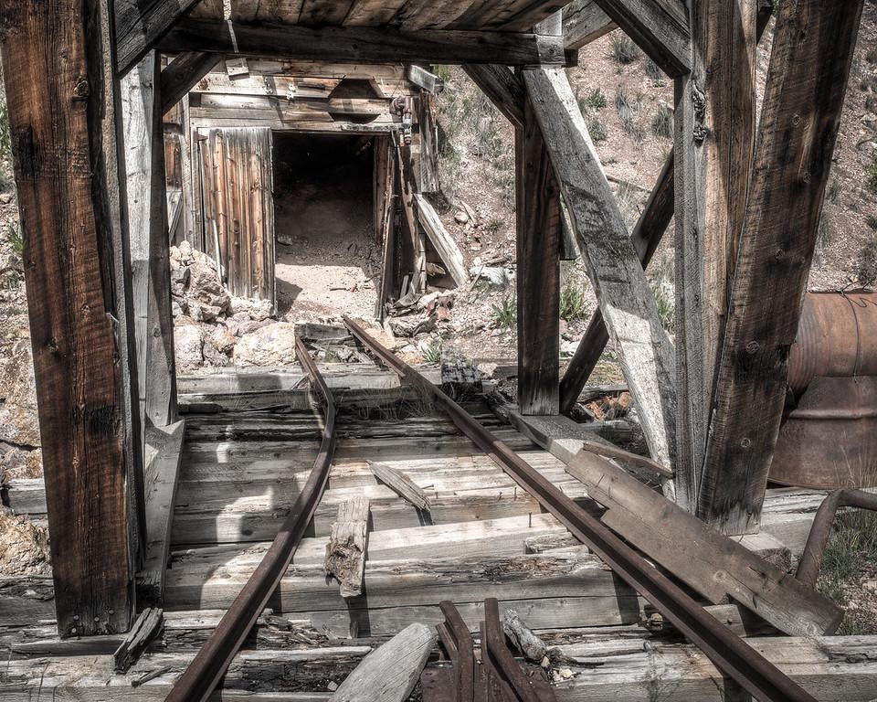 Abandoned Mine Entrance/Exit