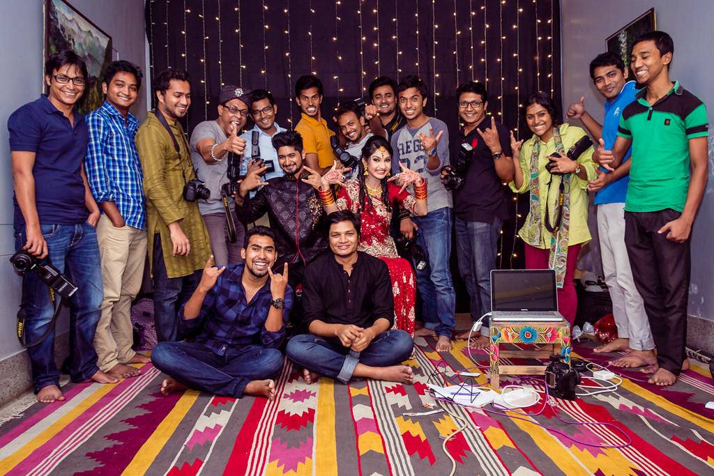 Wedding workshop by Sanjoy Shubro