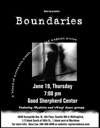 Boundaries dance performance