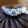 Close up of wedding ring at Belhurst Castle in Geneva, NY.