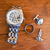 Grooms watch and cufflinks, ristol Harbour Resort, Canandaigua, NY