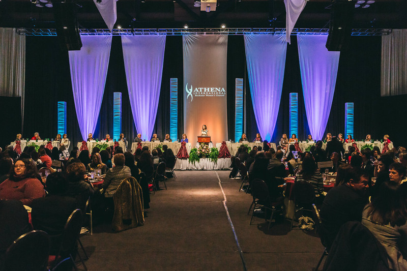 Rochester Riverside Convention Center, Athena Award, Women's Council, Rochester Business Alliance