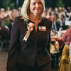 Ginny Ryan at Rochester Riverside Convention Center for Athena Award ceremony.
