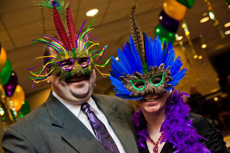 Hyatt Regency Hotel, Mardi Gras holiday Party