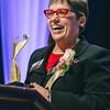 Rochester Riverside Convention Center. MCC President Anne Kress, Athena award winner.