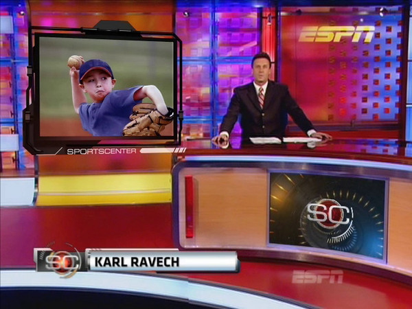 <H2><i>myESPNHighlights </I>Video</H2><br> It's YOUR player's turn to be a Superstar! <br>Your DVD comes with:<br> <br>-Authentic ESPN SportsCenter broadcast <br>-Featuring your photos and commentary by ESPN anchor Karl Ravech <br>-Personalized DVD case and label <br>-Sharable Movie file (MP4) <br>-4 personalized cut-out cards  <br>-Printable 8x10€ mini poster  <br>-Digital JPG files of all featured photos <br><br>Multiple sport themes are available in both INDIVIDUAL (15 photos) and TEAM (up to 100 photos) versions.<center><H2> <a href=http://metrosi.com/orderform/myESPNOrderForm.html target=blank>ORDER AN ESPN VIDEO</a></H2>