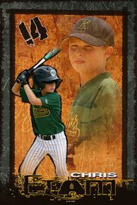 Baseball-Grunge