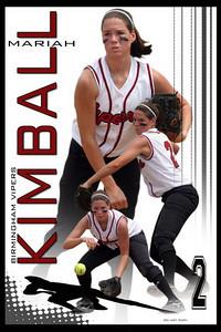 Softball-High Key