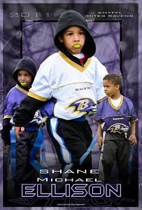 Shane 3 pose poster