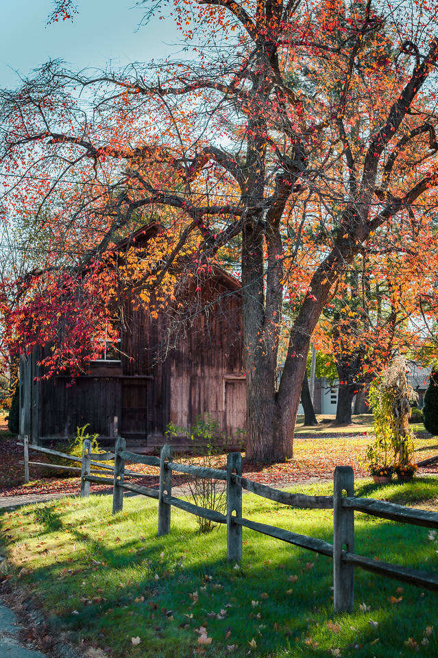 Fall Barn HDR