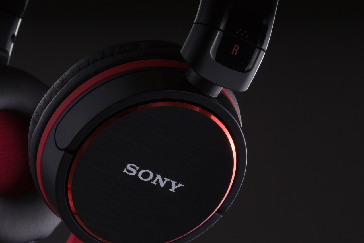 Sony Headphone Product CU