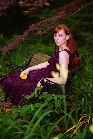 Kat Purple & Green III
