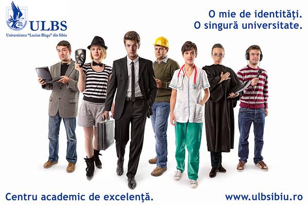 ULBS - O mie de identitati, o singura universitate