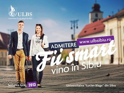 ULBS - Admitere Sibiu