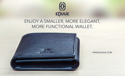 Equue.com - Smaller, more elegant, more functional wallet