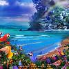 Bird Ocean Paradise