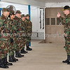 "First Day, February 5, 2011<br /> Instructor, SGT Comeau, ""Drill and Ceremonies"""