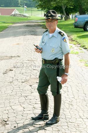 Major Gordon J. Johnson, Commandant 2nd Company Governor's Horse Guard