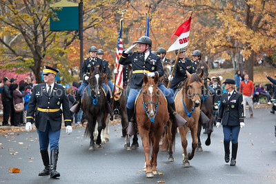 2nd Co Gov Horse Guard CT Veterans Day Parade 2016