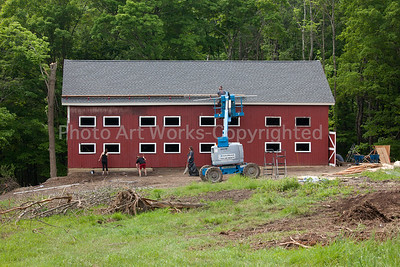 Barn Rebuild Catherine Violet Hubbard Animal  Sanctuary